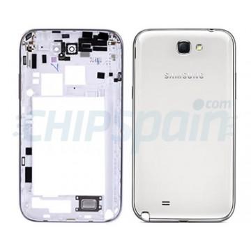 Carcasa Trasera Samsung Galaxy Note 2 -Blanco