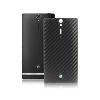Tapa Trasera Bateria Sony Xperia S/Arc HD -Negro Carbono