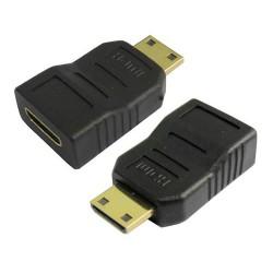 Adaptador Mini HDMI Hembra/Mini HDMI Macho