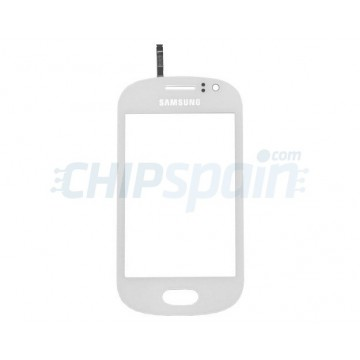 Vidro Digitalizador Táctil Samsung Galaxy Fame -Branco