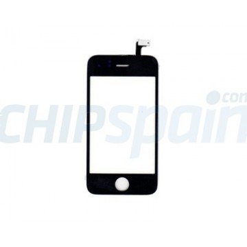 Touch Screen with Frame iPhone 4S -Black
