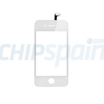 Touch Screen with Frame iPhone 4S -White
