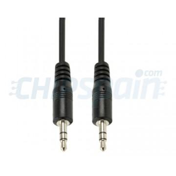 Cable Audio Jack 3.5mm Macho-Macho 1.5m