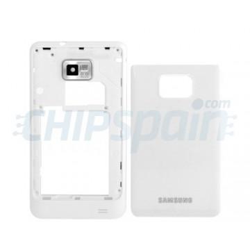 Carcasa Trasera Samsung Galaxy SII i9100 Blanco