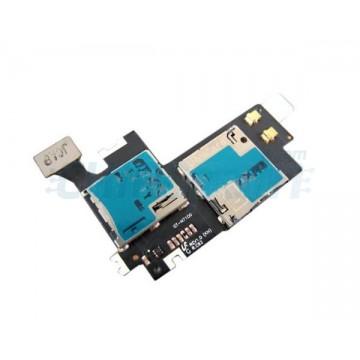 Cable Flexible Lector SIM y MicroSD Samsung Galaxy Note 2
