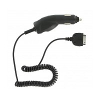 Cargador de Coche a 30 PIN iPhone/iPad/iPod -Negro