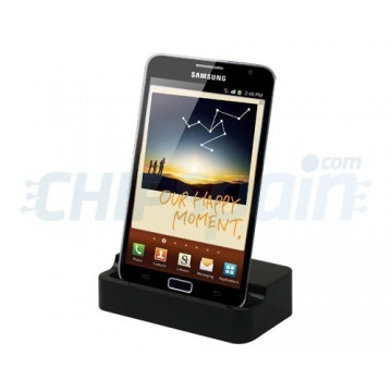 Carregamento do berço/sincronização Samsung Galaxy Note preto