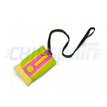 Funda MP3/MP4/MP5 Energy C500 -Kiwi Yellow