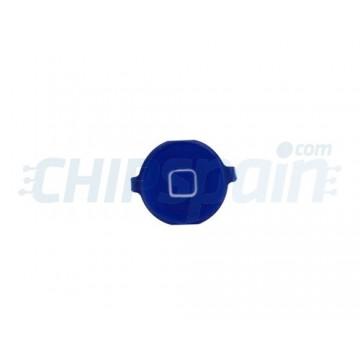 Botón Home iPhone 4 -Azul Oscuro