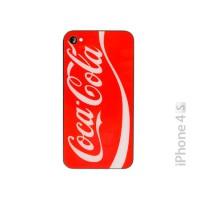 Cristal y Marco Trasero iPhone 4S -Coca Cola Rojo