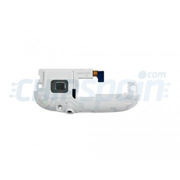 Antena, Buzzer y Entrada Jack Original Samsung Galaxy SIII Blanco