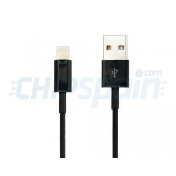 Cable USB a Lightning 1m -Negro