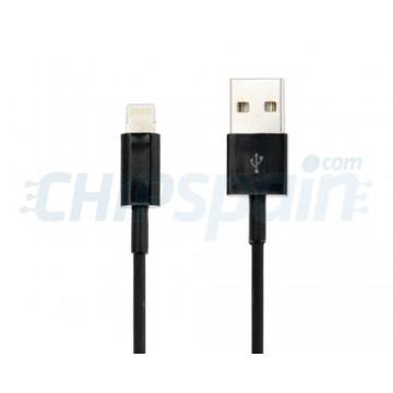 Cabo USB a Lightning 1m -Negro