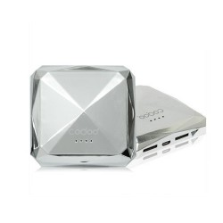 Batería Externa Diamond Cogoo 7800mAh - Plata