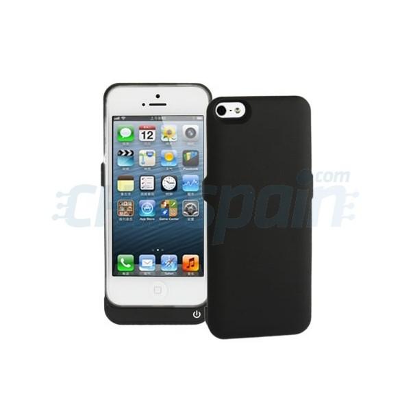 Funda 5gt con bateria externa ultrafina 2400mah iphone 5 for Funda bateria iphone