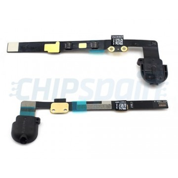 Conector flexível do cabo jack iPad Mini Preto