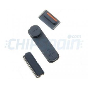 Pack de Botones Externos iPhone 5/iPhone 5S -Negro