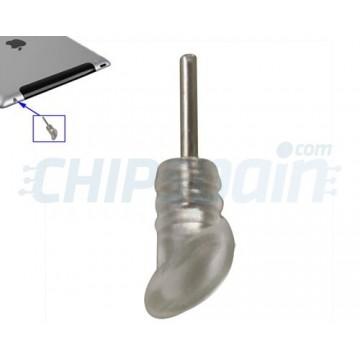 iPad 2/iPad 3/iPad 4 Jack Jack Inlet Dust Guard - Transparent