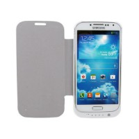 Flip Stand 3200mAh Battery Case Samsung Galaxy S4 -White
