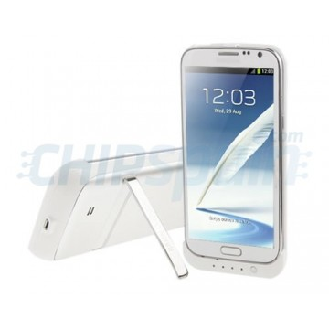 Battery Case 4200mAh Samsung Galaxy Note 2 -White