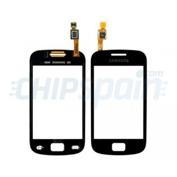 Vidro Digitalizador Táctil Samsung Galaxy Mini 2 (S6500i) -Negro
