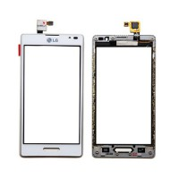 Touch screen with frame LG Optimus L9 -White