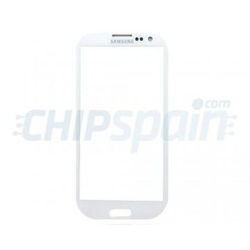 Cristal Exterior Samsung Galaxy SIII -Blanco