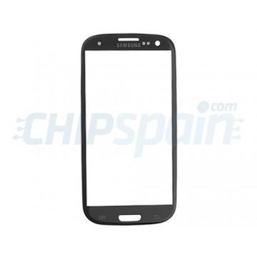 Cristal Exterior Samsung Galaxy SIII -Negro