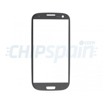 Cristal Exterior Samsung Galaxy SIII -Gris