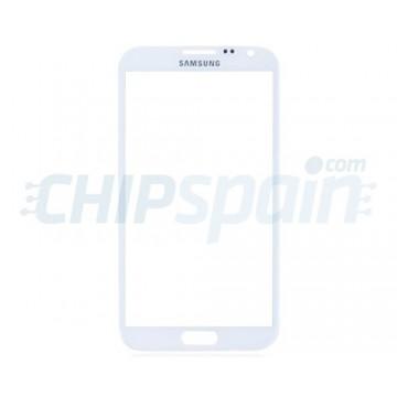 Cristal Exterior Samsung Galaxy Note 2 -Blanco