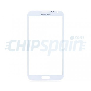 Vidro Exterior Samsung Galaxy Note 2 -Branco