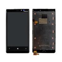 Pantalla Completa con Marco Nokia Lumia 920 -Negro