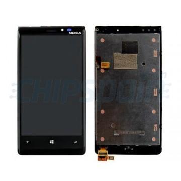 Pantalla Completa con Marco Nokia Lumia 920 - Negro