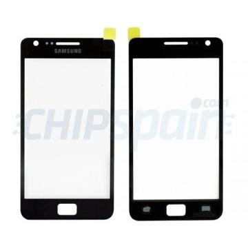 Cristal Exterior Samsung Galaxy SII -Negro
