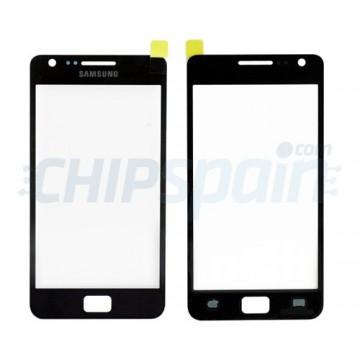 Exterior Glass Samsung Galaxy SII-Black