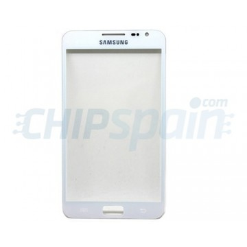 Exterior Glass Samsung Galaxy Note -White