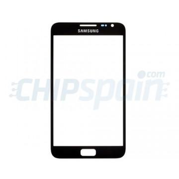 Cristal Exterior Samsung Galaxy Note -Negro