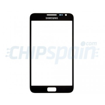 Exterior Glass Samsung Galaxy Note -Black