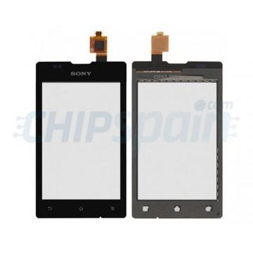 Vidro Digitalizador Táctil Sony Xperia E -Preto