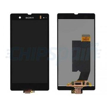 Ecrã Tátil Completo Sony Xperia Z L36H C6603 Preto