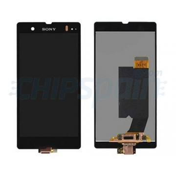 Full Screen Sony Xperia Z L36H C6603 Black