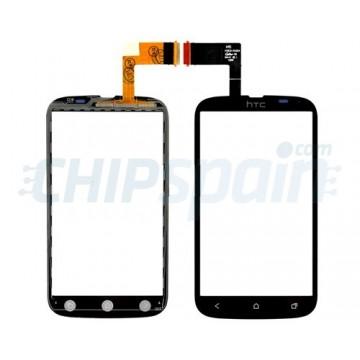 Vidro Digitalizador HTC Desire V -Preto