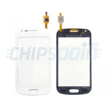 Vidro Digitalizador Táctil Samsung Galaxy Trend/S Duos -Branco