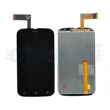 Ecrã Tátil Completo HTC Desire V -Preto