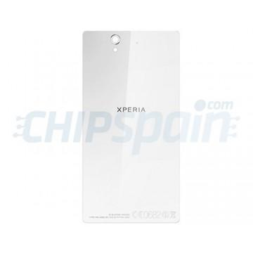 Cristal Trasero Sony Xperia Z L36H C6603 Blanco