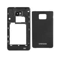 Carcasa Trasera Samsung Galaxy SII i9100 -Negro