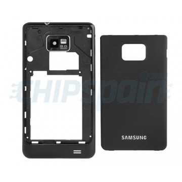 Carcasa Trasera Samsung Galaxy SII i9100 Negro
