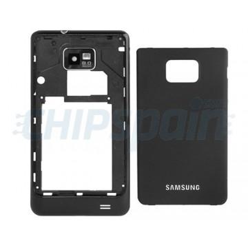 Carcasa Trasera Samsung Galaxy SII i9100 -Preto