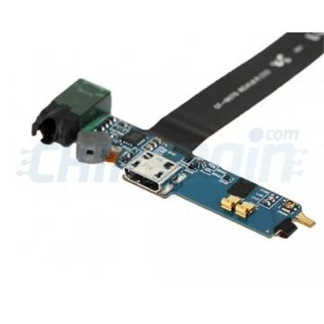 Cable Flex Conector de Carga, Jack y Micrófono Samsung Galaxy S Advance