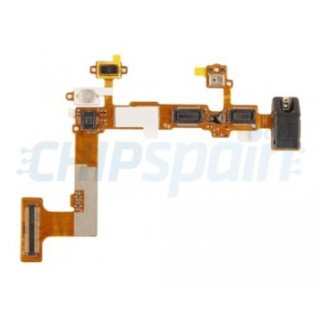 Cabo Flexible Audio Jack + Interruptor ON/Off LG Optimus L7
